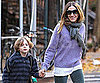 Slide Picture of Sarah Jessica Parker and James Wilkie in NYC 2010-11-24 12:15:00