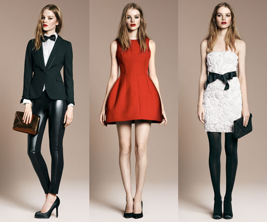 Zara's Evening Collection For the Sophisticated Flirt