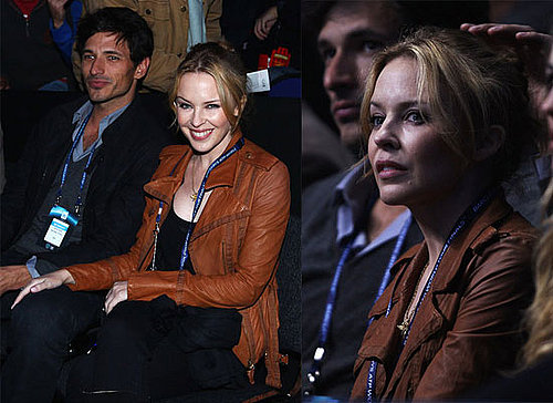Kylie Minogue and Boyfriend Andres Velencoso at ATP World Tour Finals in London