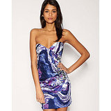 Lipsy Dress with a Swirl Print, approx $105 from ASOS