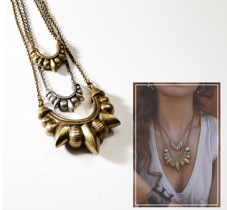 Tribal Spike Necklace