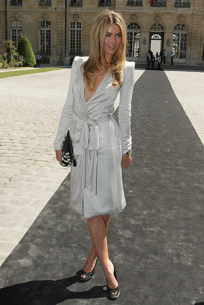 June 2008: Attending Dior's Show at Paris Couture Fashion Week
