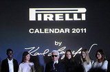 Jeneil Williams, Bianca Balti, Karl Lagerfeld, Natasha Poly, Heidi Mount, Erin Wasson
