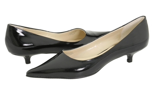 As you know, the ladylike look is huge, so these Gabriella Rocha Kitten Pumps ($49, originally $65) will keep my feet on trend.