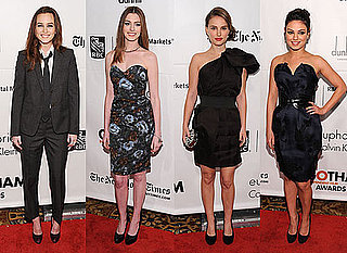 Pictures of Leighton Meester, Mila Kunis, Natalie Portman, Anne Hathaway at Gotham Independent Film Awards