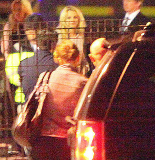 Pictures of Britney Spears Landing in Mexico With Jason Trawick