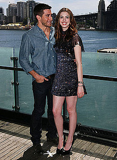 Jake Gyllenhaal and Anne Hathaway in Sydney