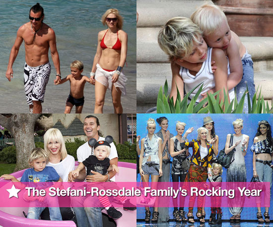 Best of 2010: The Stefani-Rossdale Family's Rocking Year