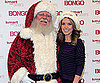 Slide Picture of Audrina Patridge Wearing a Santa Hat