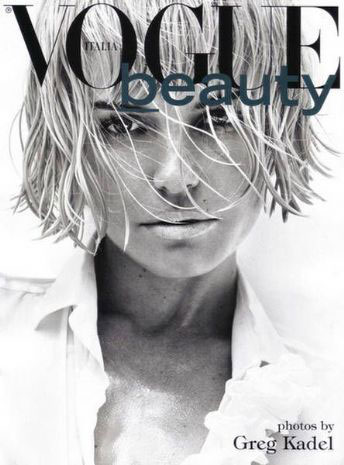 December 2009: Vogue Italia Beauty