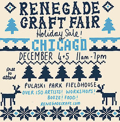 Renegade Craft Fair&#039;s Holiday Sale