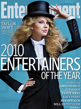 Taylor Swift Named Entertainer of the Year by Entertainment Weekly