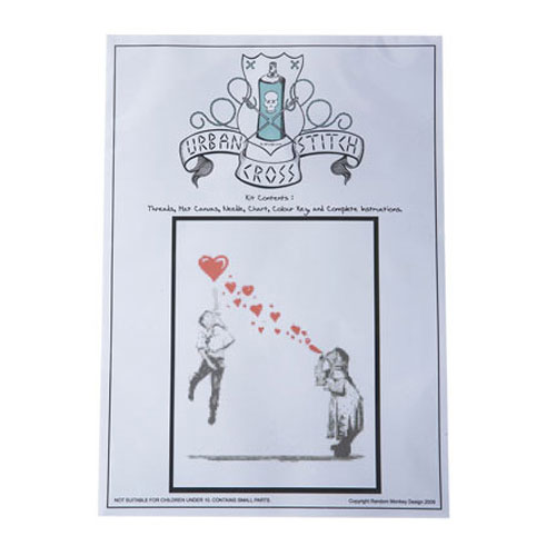 Bubble Kids Cross Stitch