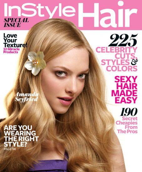 June 2010: Instyle Magazine Special Hair Issue