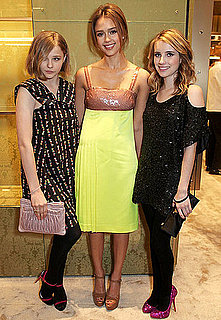 Pictures of Jessica Alba and Emma Roberts at Miu Miu Event in New York