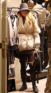 Pictures of Blake Lively Shopping in Paris