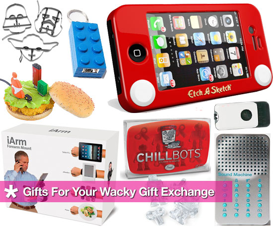 Wacky Tech Treats For Your Gift Exchange