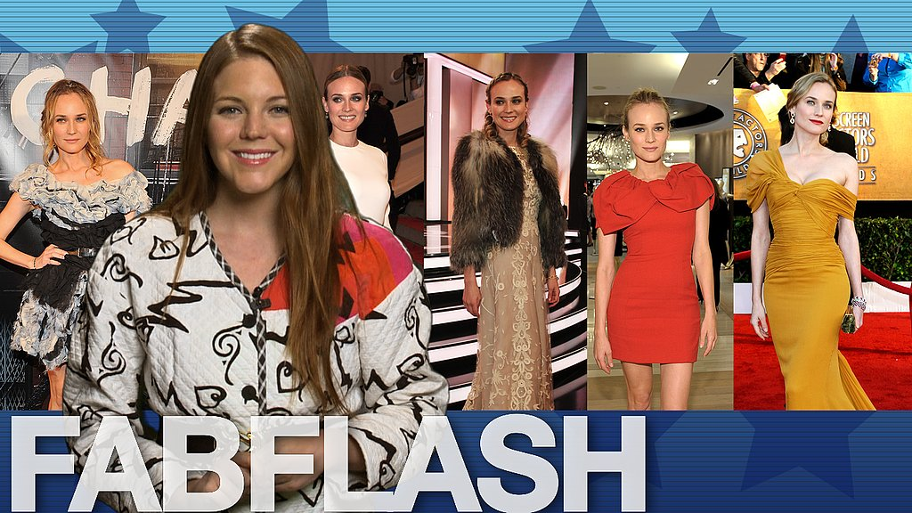 FabSugarTV recapped Diane Kruger's 10 best fashion moments of 2010. Don't miss it.
