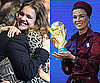 Photos of Natalia Vodianova and Sheikha Moza at World Cup Big Announcement