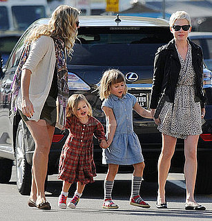 Pictures of Michelle Williams and Busy Philipps With Their Daughter Matilda and Birdie in LA