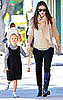 Pictures of Jennifer Garner and Violet Affleck in LA