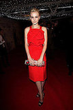 Here is another red stunner on Carey Mulligan. Ladylike but still sexy.