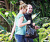 Slide Picture of Britney Spears at Recording Studio in LA