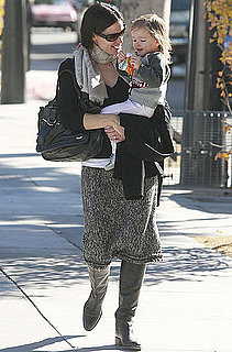 Pictures of Jennifer Garner With Seraphina in LA