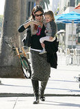 Pictures of Jennifer Garner With Seraphina