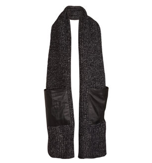 Alexander Wang Chunky Knit Scarf ($375)
