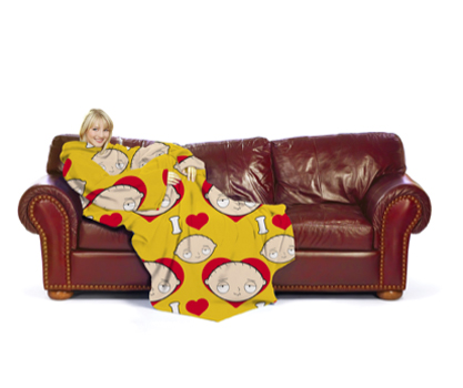 Family Guy Stewie Fleece Snugglie Body Blanket ($20)