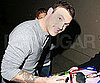 Slide Picture of Brian Austin Green Signing Autographs in LA