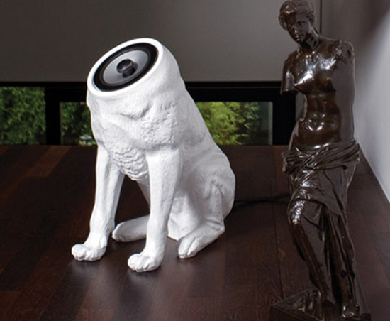 Woofer Speaker System ($1,570) - Creepy or Cute?