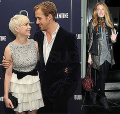 Ryan Gosling  Blake Lively on Ryan Gosling Only Has Eyes For Michelle      And Blake Lively       At