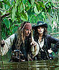 Pirates of the Caribbean: On Stranger Tides Photos With Johnny Depp and Penelope Cruz 2010-12-09 17:15:13