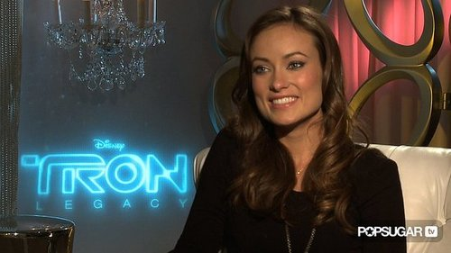 Olivia Wilde Interview For Tron Legacy