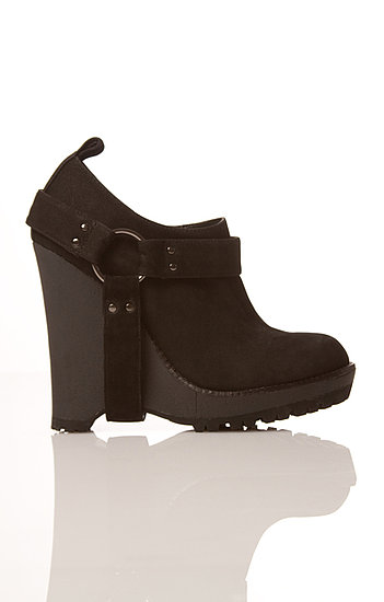 Mary Belle in black nubuck