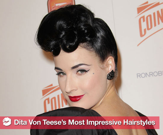 Pictures of Dita Von Teese&#039;s Hairstyles 2010-12-13 09:00:35
