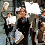 "Christian Bale Newsies Video ""The World Will Know"""