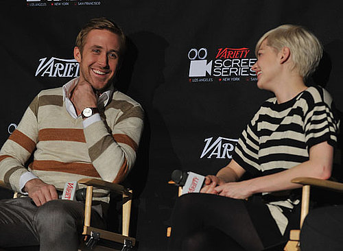 Pictures of Ryan Gosling and Michelle Williams at Blue Valentine Screening in New York