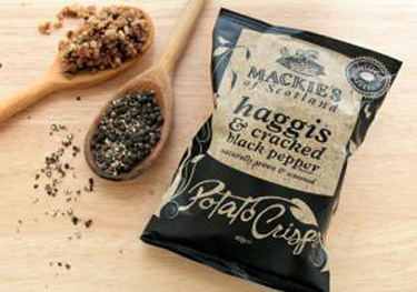 Mackie's of Scotland Introducing Haggis Chips to the US