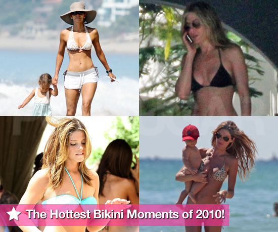 Best of 2010: The 50 Hottest Bikini Moments of 2010!