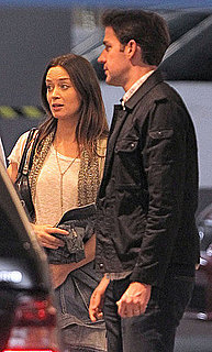 Pictures of John Krasinski and Emily Blunt at the Soho House in LA