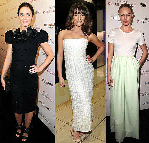 Pictures of Kate Bosworth, Lea Michele, Selena Gomez, Cory Monteith, Krysten Ritter and More at The Hollywood Style Awards 2010-12-13 11:30:00