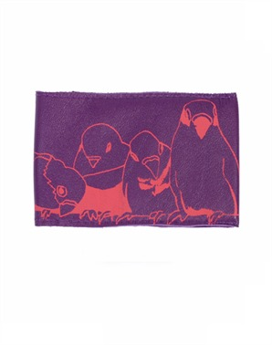 Stabo Purple Birdy Travel Card Holder (£7.50)