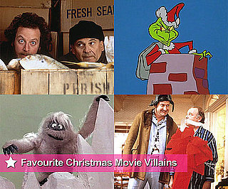 Holiday and Christmas Movie Villains Including The Grinch and Home Alone's Wet Bandits