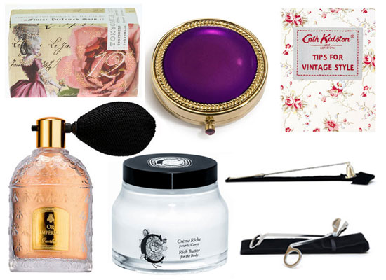 Bella's Xmas Gift Guide: Fab Finds for a Vintage Lover!