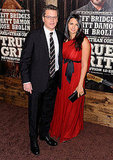 Pictures of Matt Damon, Luciana Damon, Jeff Bridges at NYC True Grit Premiere 2010-12-15 06:00:00
