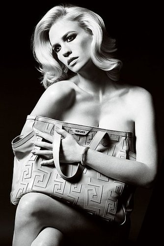 January Jones Naked for Versace S/S 2011 Ad Campaign!  HOT or NOT .!