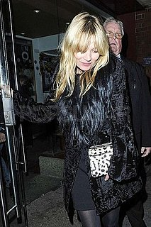 Pictures of Kate Moss at a Performance of the Nutcracker in London